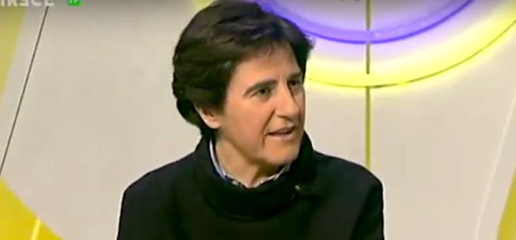 Entrevista a Tíscar Espigares en programa Crónica Vaticana sobre el 50 aniversario de Sant'Egidio