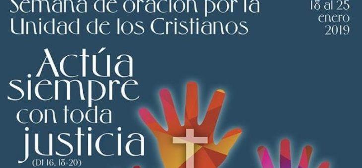 Participación en la inauguración de la Semana de Oración por la Unidad de los Cristianos 2019
