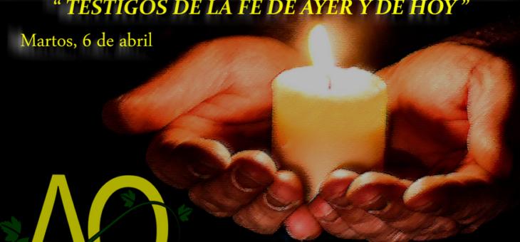 Intervención en el encuentro diocesano de catequistas de Jaén
